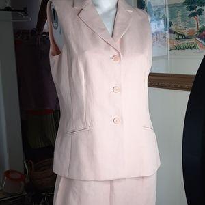 Ann Taylor Linen Blend Suit